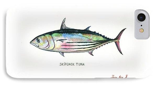 Skipjack Tuna IPhone Case by Juan Bosco