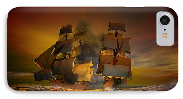 Skirmish IPhone Case by Carol and Mike Werner