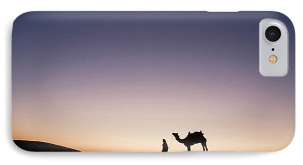 Skn 0860 Dawn At The Dunes IPhone Case by Sunil Kapadia