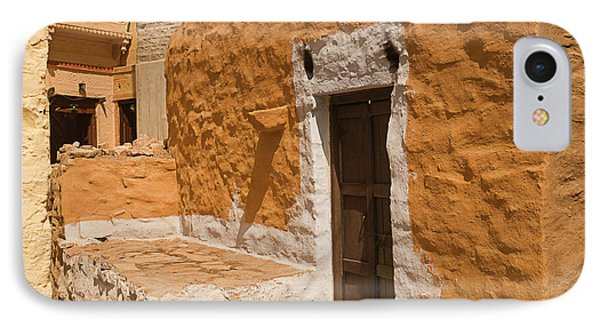 Skn 1264 The Thatched House IPhone Case by Sunil Kapadia