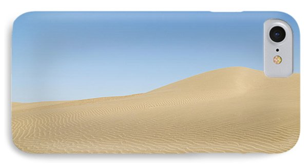 Skn 1412 The Ripples On The Slope IPhone Case by Sunil Kapadia