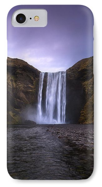 Skogafoss IPhone Case by Tor-Ivar Naess