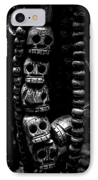 Skull Beads IPhone Case by James Aiken