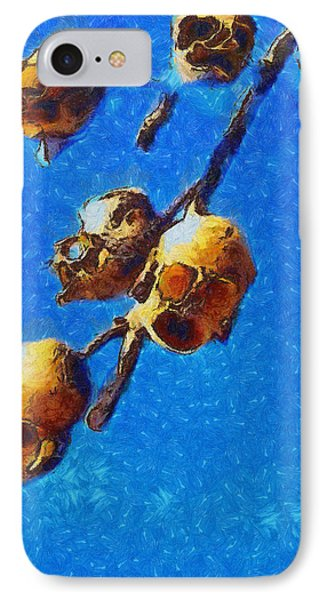 Skull Flower - Pa IPhone Case