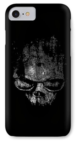 Skull Graphic IPhone Case by Edward Fielding