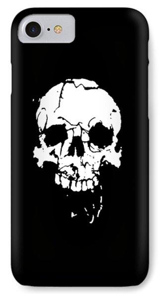 Skull Phone Case by H James Hoff