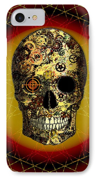 Skullgear IPhone Case by Iowan Stone-Flowers
