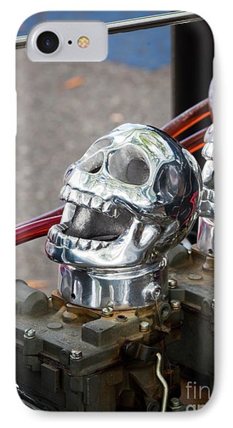IPhone Case featuring the photograph Skully by Chris Dutton