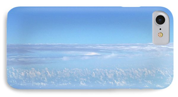 IPhone Case featuring the photograph sky and clouds M1 by Francesca Mackenney
