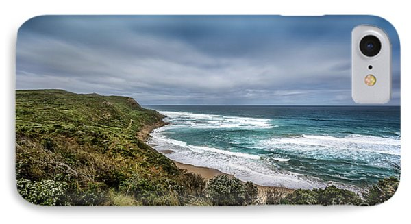 IPhone Case featuring the photograph Sky Blue Coast by Perry Webster