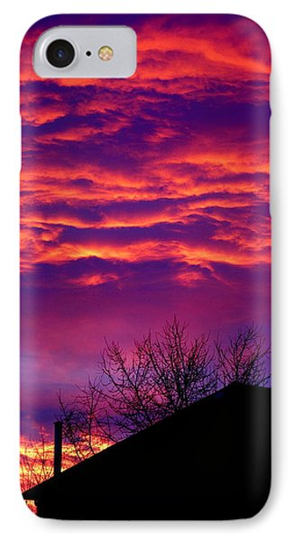 IPhone Case featuring the photograph Sky Drama by Valentino Visentini