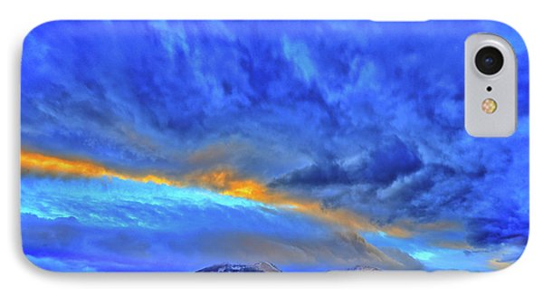 IPhone Case featuring the photograph Sky Fall by Scott Mahon