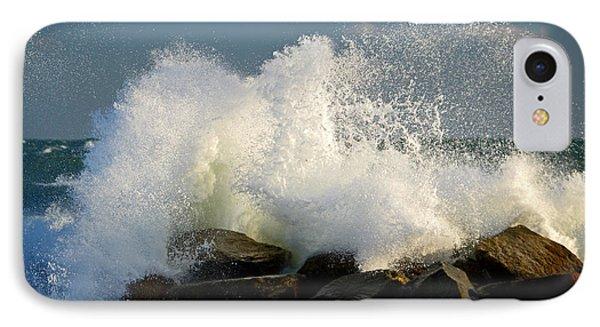 Sky High Splash - Cape Cod Bay IPhone Case