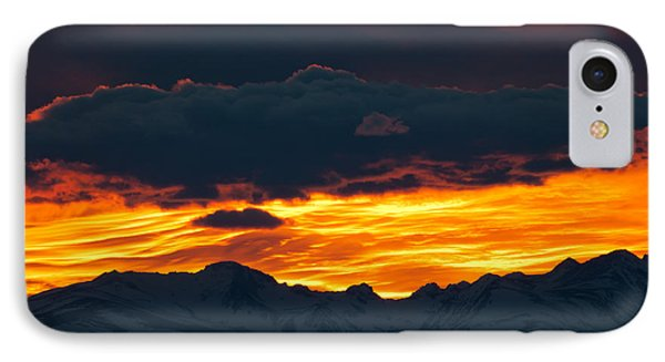 Sky Lava IPhone Case by Colleen Coccia