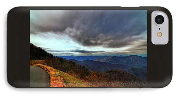 Sky Line Drive Virginia IPhone Case by Melissa Hicks