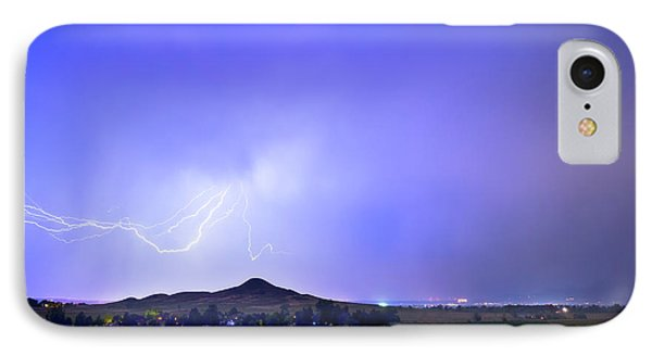 IPhone Case featuring the photograph Sky Monster Above Haystack Mountain by James BO Insogna