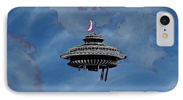 Sky Needle Phone Case by Tim Allen