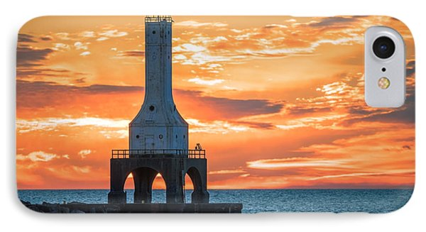 Sky On Fire IPhone Case by James Meyer