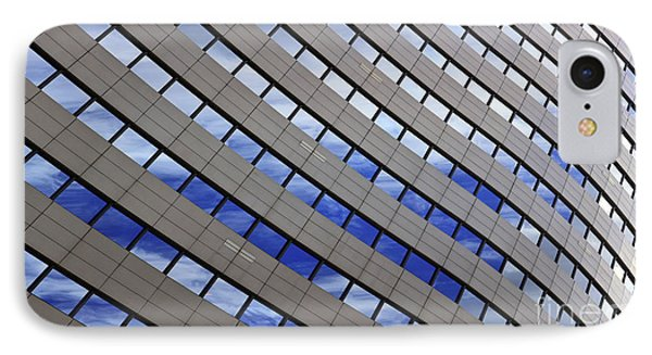 Sky Reflections IPhone Case by Mike Reid