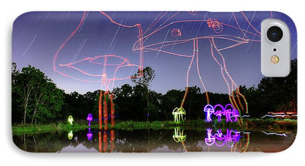 Sky Shrooms IPhone Case by Andrew Nourse