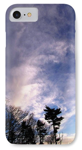 Sky Study 2 3/11/16 IPhone Case
