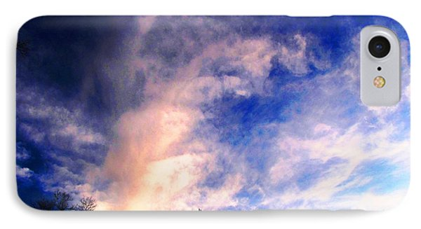 Sky Study 5 3/11/16 IPhone Case