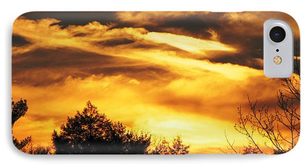 Sky Study 7 3/11/16 IPhone Case