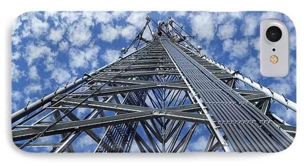 Sky Tower IPhone Case by Robert Geary