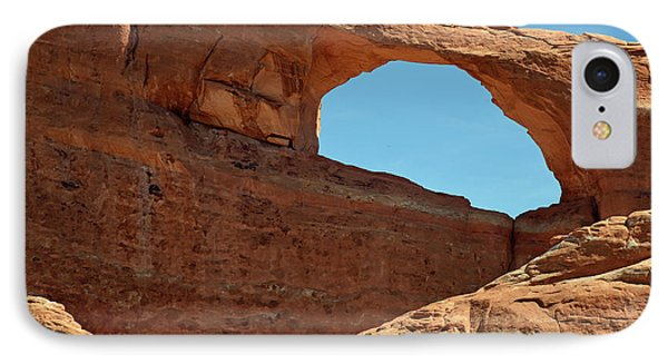 IPhone Case featuring the photograph Skyline Arch In Utah by Bruce Gourley