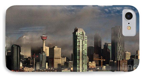 Skyline Fog IPhone Case by Brad Allen Fine Art
