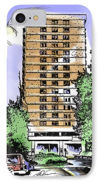 Skyline House Condo IPhone Case