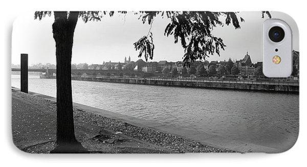 Skyline Maastricht IPhone Case by Nop Briex