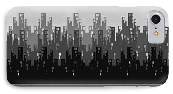 Skyline New York IPhone Case