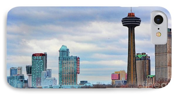 IPhone Case featuring the photograph Skyline Niagara by Traci Cottingham