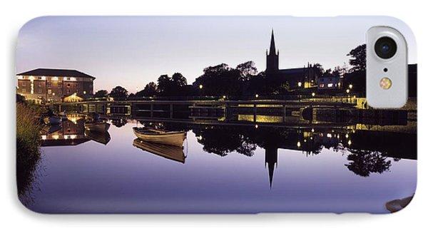 Skyline Over The R Garavogue, Sligo IPhone Case