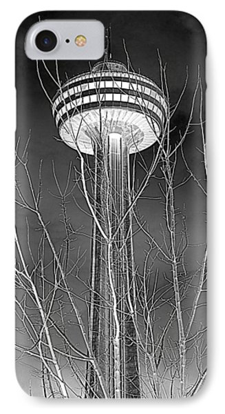 IPhone Case featuring the photograph Skylon Tower by Valentino Visentini