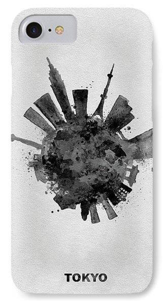 Black Skyround / Skyline Art Of Tokyo, Japan IPhone 7 Case