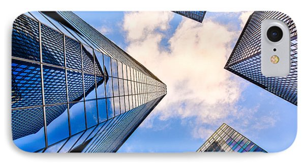 Skyscraper City IPhone Case by Micha Dziekonski