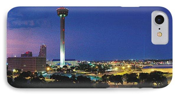 Skyscraper In A City, San Antonio IPhone Case