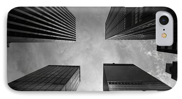 Skyscraper Intersection IPhone Case