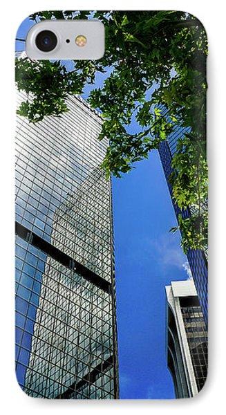 Skyscraper Spring IPhone Case