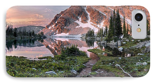 Skytop Lake Sunrise IPhone Case