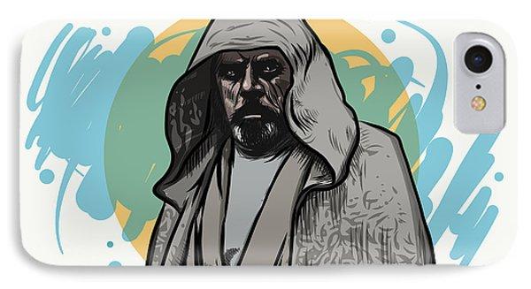 IPhone Case featuring the digital art Skywalker Returns by Antonio Romero