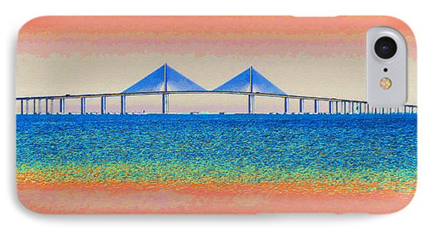 Skyway Morning IPhone Case by David Lee Thompson