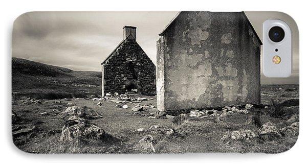 Slaggan Ruins IPhone Case by Dave Bowman