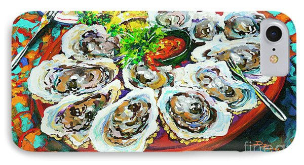 IPhone Case featuring the painting Slap Dem Oysters  by Dianne Parks