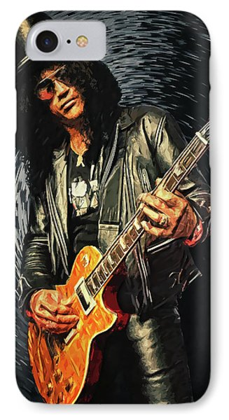 Slash IPhone Case by Taylan Apukovska