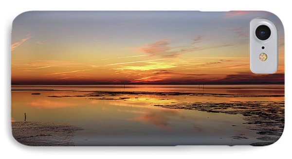 IPhone Case featuring the photograph Touching The Golden Cloud by Thierry Bouriat