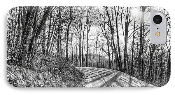 IPhone Case featuring the photograph Sleep Hallow Road by Dan Traun