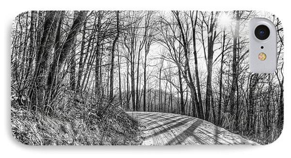 Sleep Hallow Road IPhone Case by Dan Traun